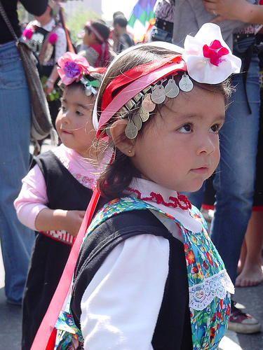 Mapuche Girl by antitezo, Flickr