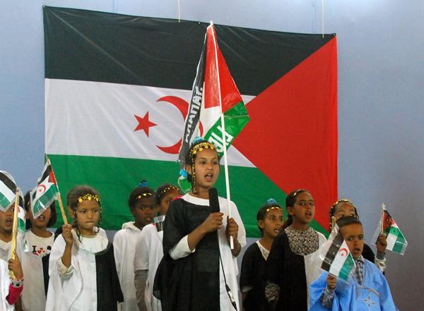 lapset ja lippu